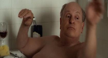 ou o Anthony Hopkins na banheira