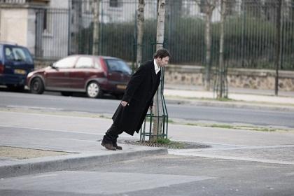 Mathieu Amalric imitando o Didi